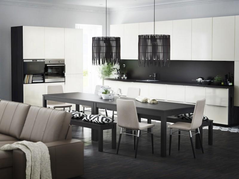 Cuisine Ikea Metod avec façades RINGHULT
