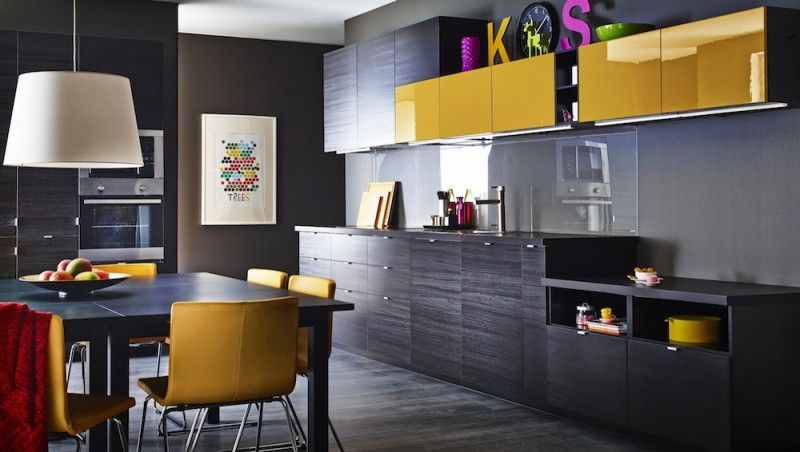 Cuisine Ikea Metod avec façades TYNGSRYD et JARSTA