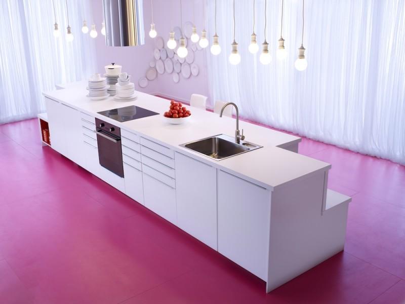 Cuisine Ikea Metod avec façades VEDDINGE