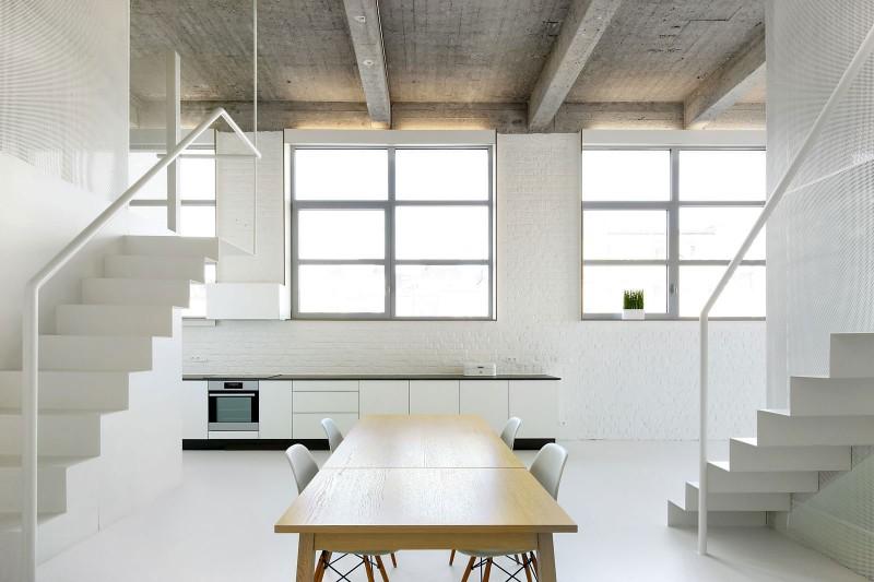 Loft à Bruxelles par adn Architectures