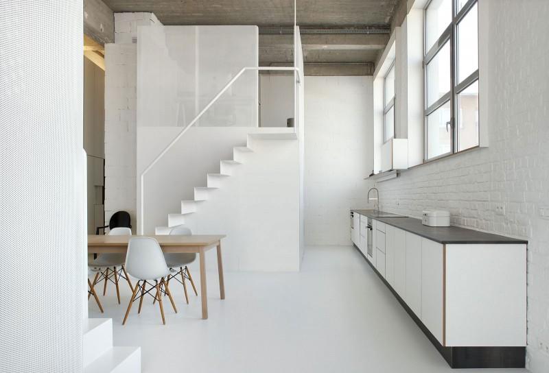 Loft 224 Bruxelles Par Adn Architectures