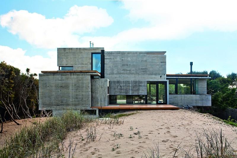 Maison contemporaine en Béton par BAK Architects