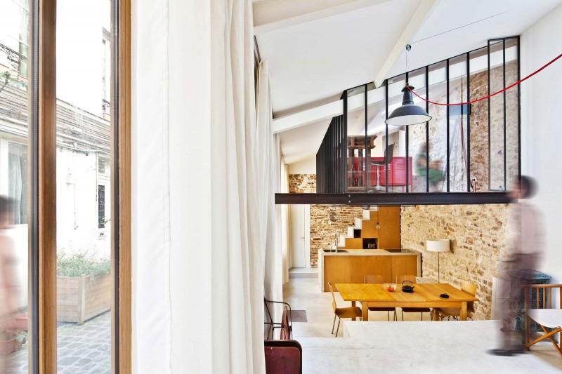 Atelier transform en loft paris for Atelier du loft