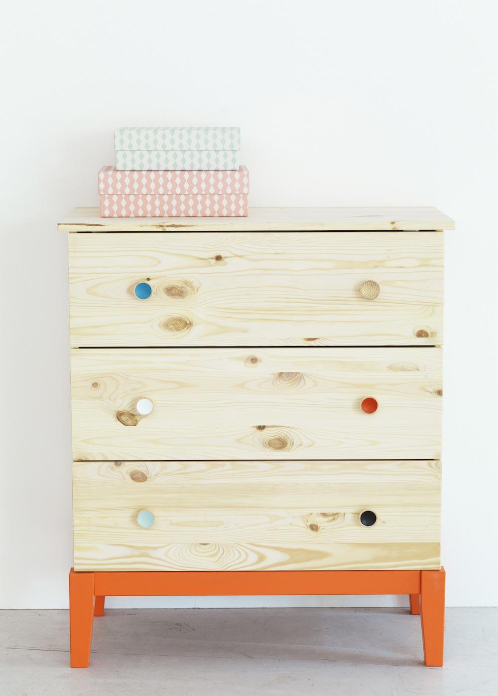 commode deco scandinave. Black Bedroom Furniture Sets. Home Design Ideas