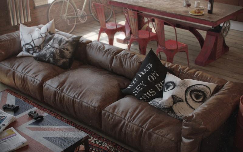 Canapé en image de synthèse