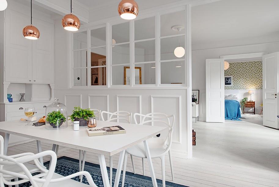 Déco scandinave dans un appartement à Gothenburg