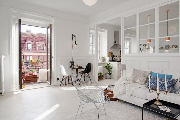 D co scandinave dans un appartement gothenburg - Appartement duplex alvhem makleri goteborg ...