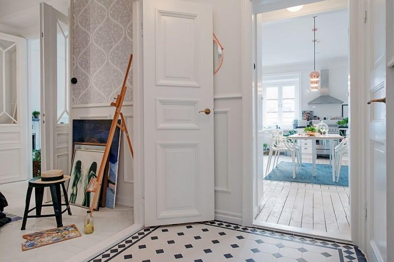 8cf8c7f66a8676 Déco scandinave dans un appartement à Gothenburg