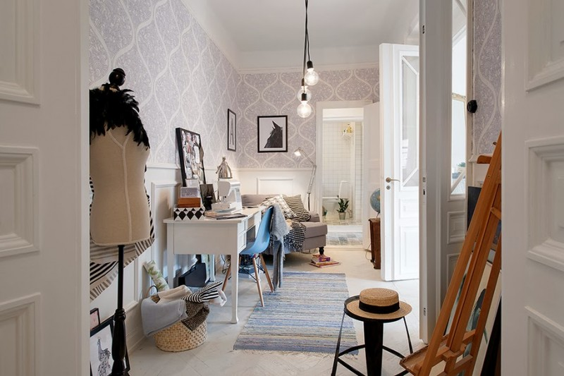 D co scandinave dans un appartement gothenburg - Deco huis ...