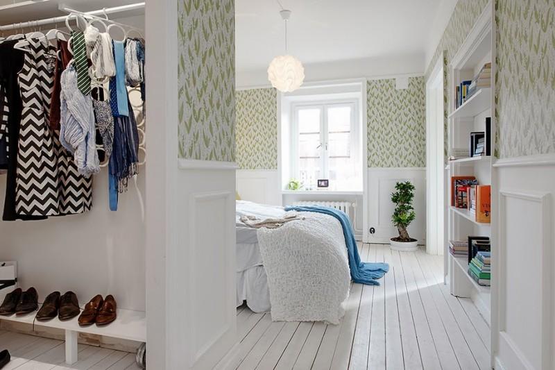 D co scandinave dans un appartement gothenburg - Deco chambre scandinave ...