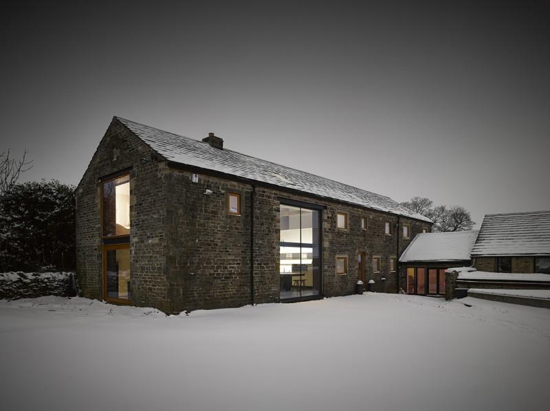 Rénovation d\'une grange par Snook Architects