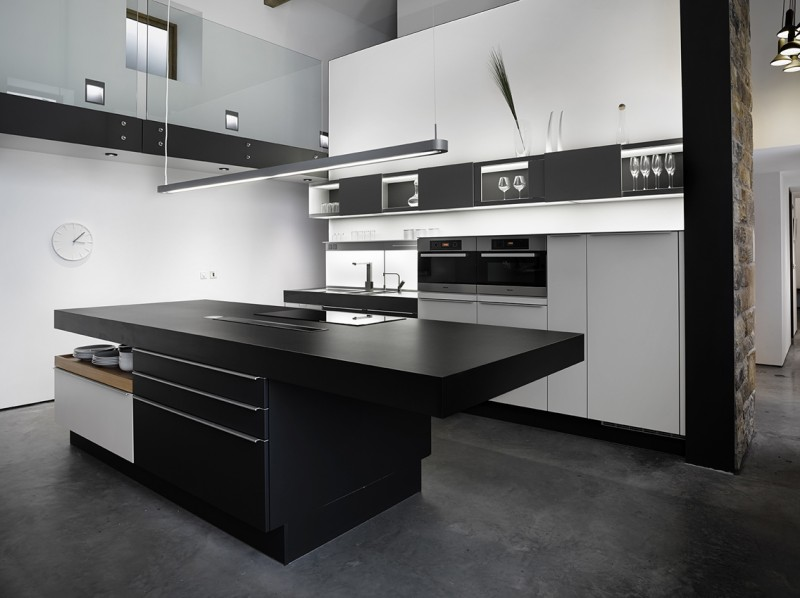 R novation d 39 une grange par snook architects - Cuisine ultra design ...