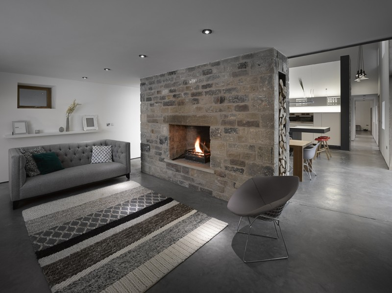 R novation d 39 une grange par snook architects - Renovation d une grange ...