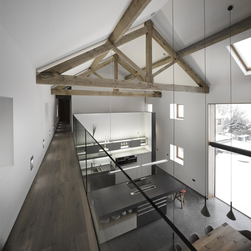 R novation d 39 une grange par snook architects - Renovation grange loft ...