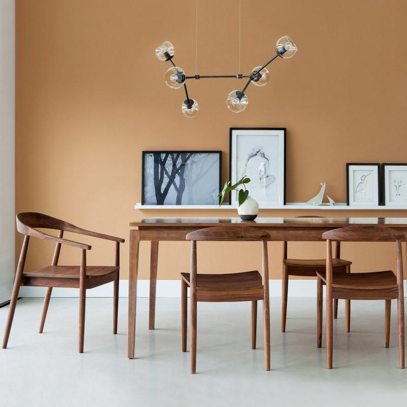 17 id es d co de chaises en bois esprit scandinave. Black Bedroom Furniture Sets. Home Design Ideas