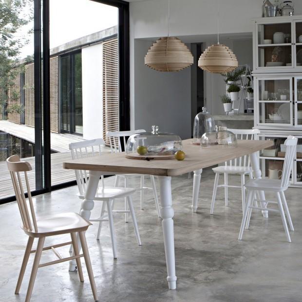 17 id es d co de chaises en bois esprit scandinave - Deco esprit scandinave ...