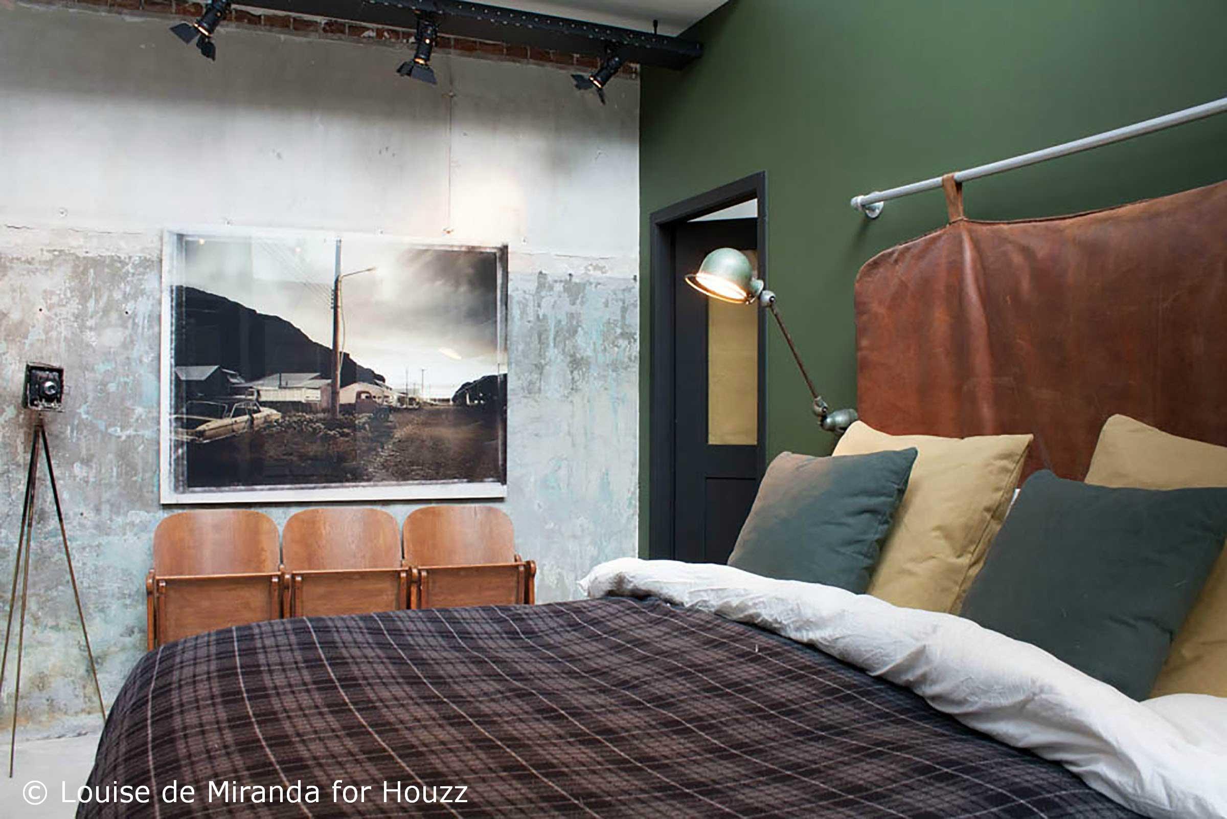 Fauteuil industriel ancien : Fauteuil ancien relooké : meubles et rangements par