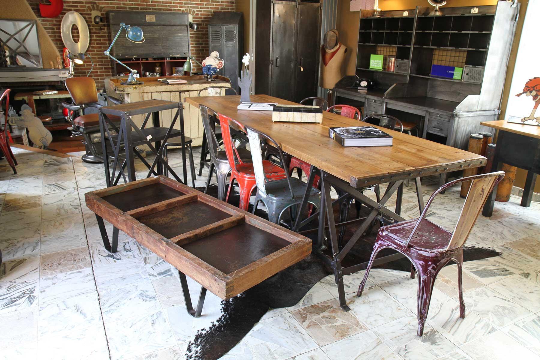 So broc indus mobilier industriel et vintage tourcoing for Mobilier industriel
