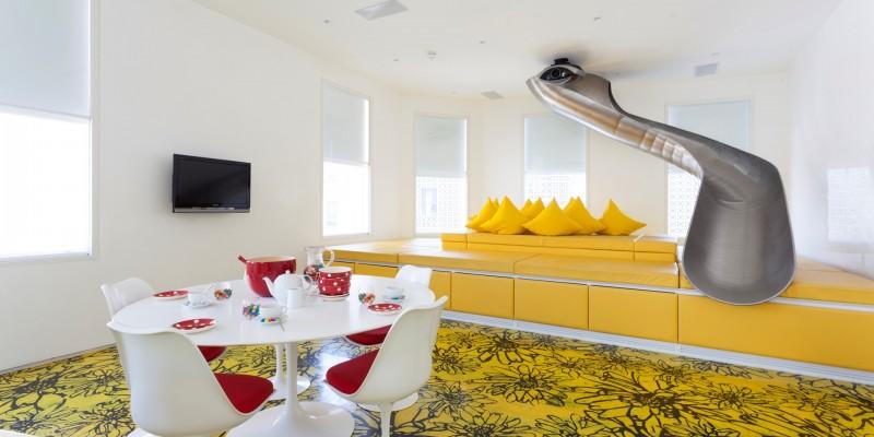 Appartement avec toboggan à Londres