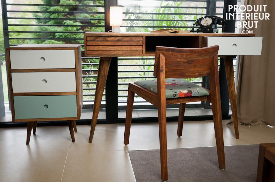 chaise en bois stockholm esprit deco scandinave. Black Bedroom Furniture Sets. Home Design Ideas