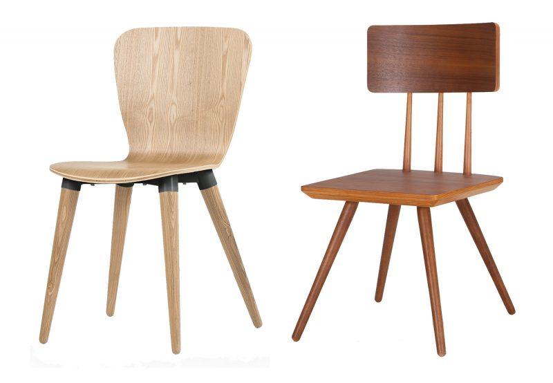Chaise scandinave en bois par Made