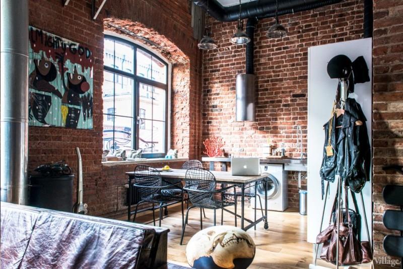 cuisine style industriel loft industriel et moderne en russie - Cuisine Esprit Loft Industriel