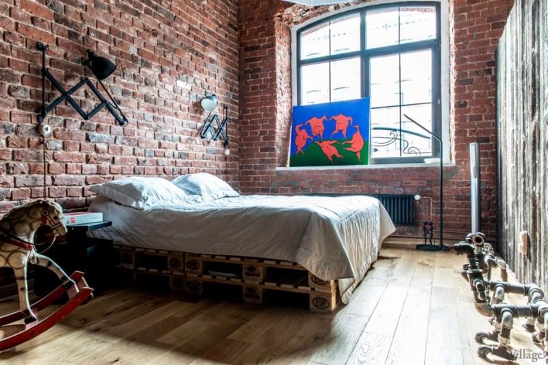 Chambre séparée par une cloison