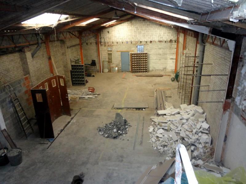 Hangar transformé en loft