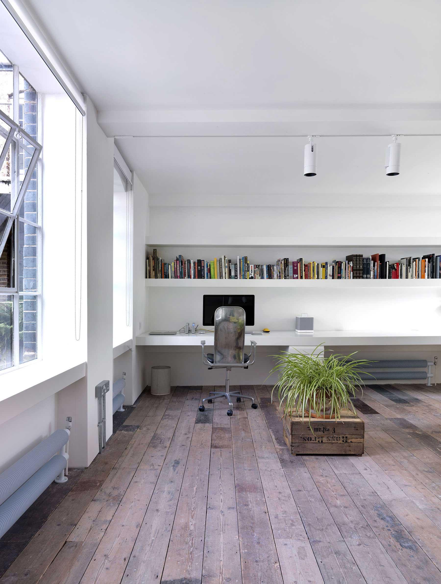 Bureau du loft for Bureau style loft