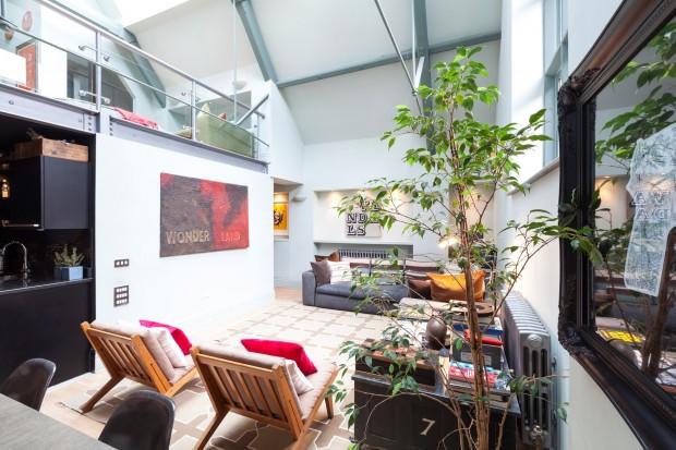 Appartement avec verri re londres for Appartement design londres