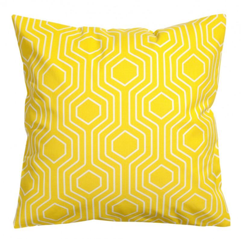 Coussin jaune H&M Maison