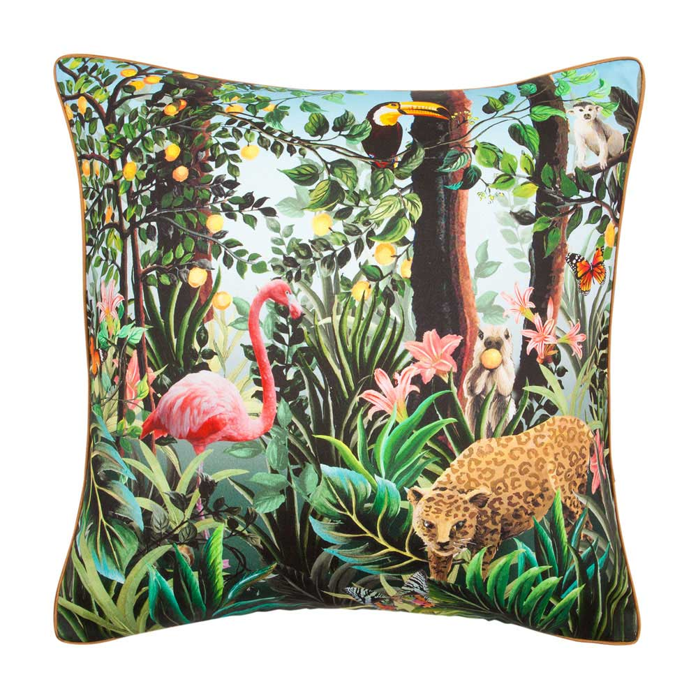 Coussin jungle for Coussin deco