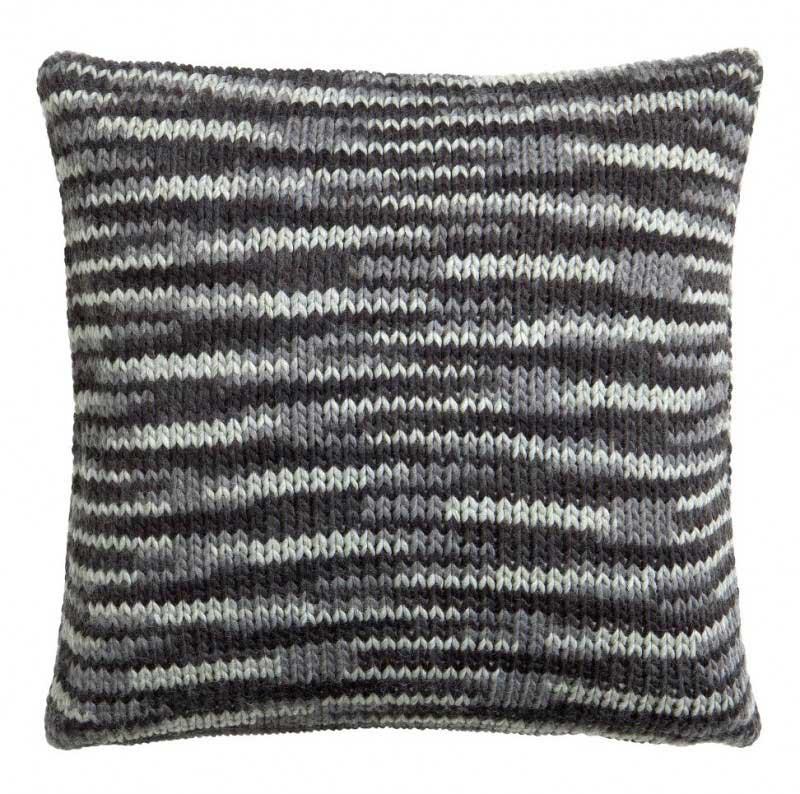 Coussin tricoté
