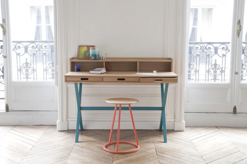 Hart mobilier astucieux et color pour int rieurs joyeux for Bureau harto