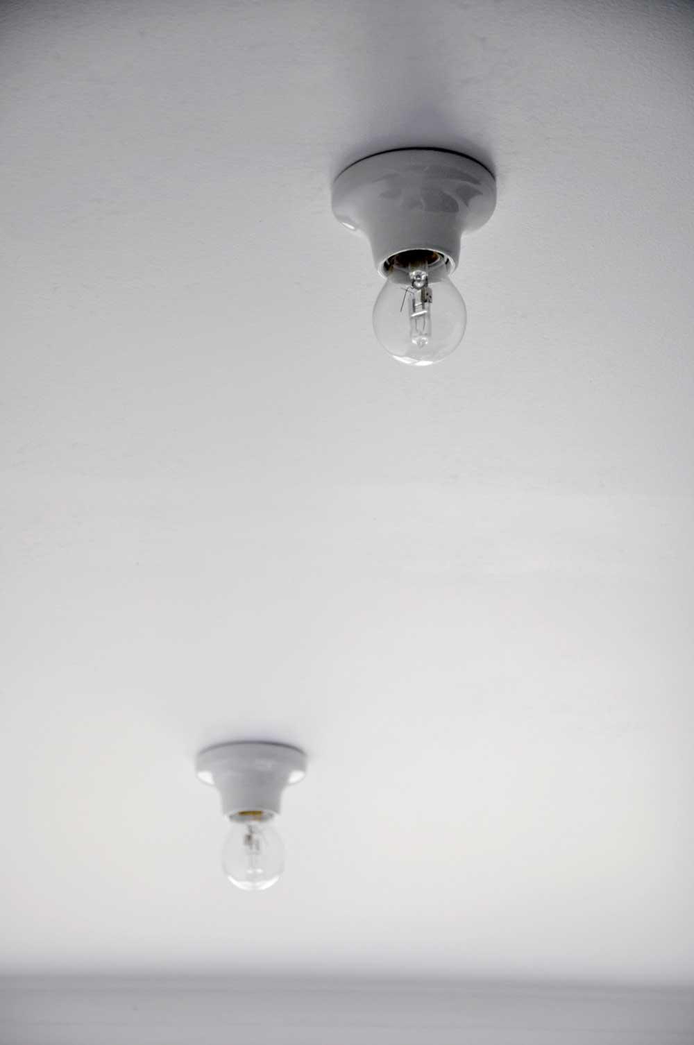 Ampoule plafonnier d co for Renovation salle de bain paris