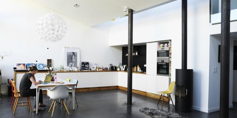 notre loft nous avant pendant et apr s les travaux. Black Bedroom Furniture Sets. Home Design Ideas