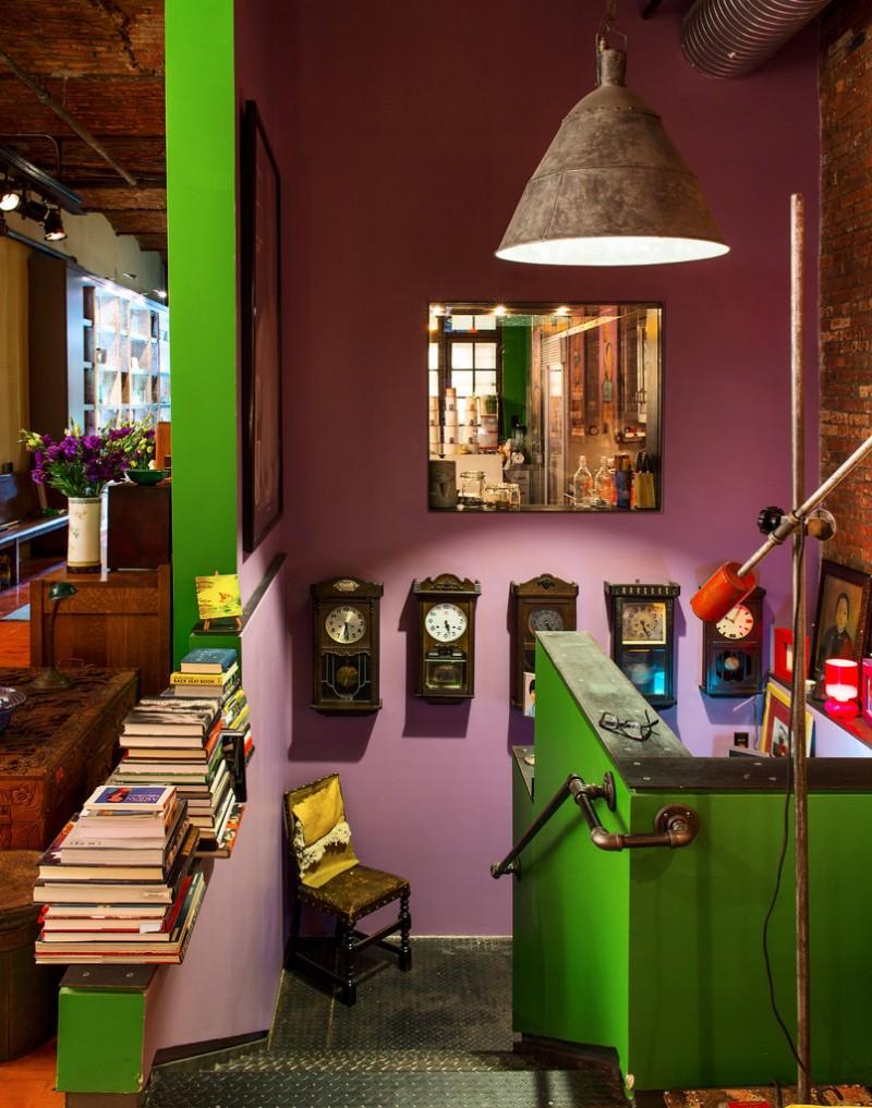 Loft vintage ultra chaleureux à New York