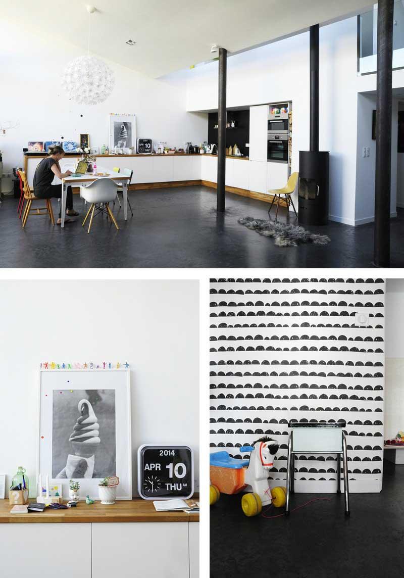 notre loft vu par anne sophie de sodeco. Black Bedroom Furniture Sets. Home Design Ideas
