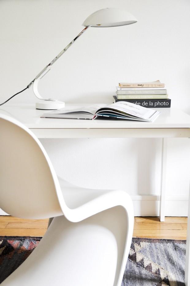 Lampe de bureau blanche - Lampe bureau blanche ...