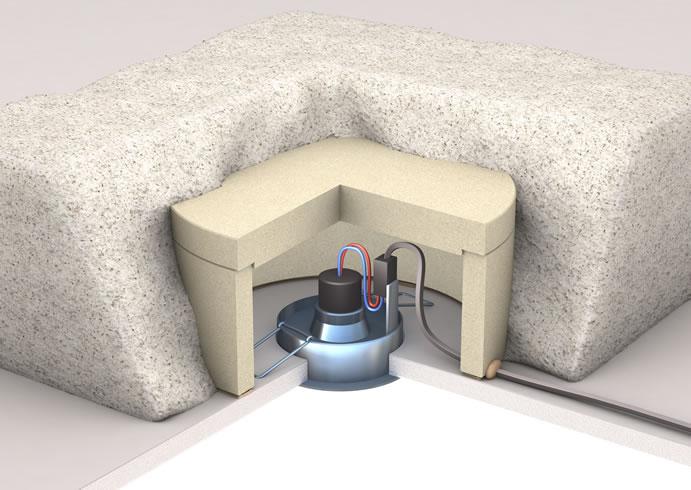 protec spot protecteur thermique pour spot encastr. Black Bedroom Furniture Sets. Home Design Ideas