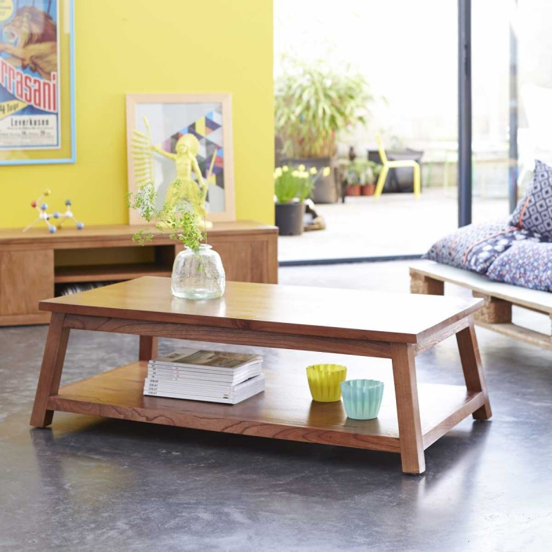 Table basse en bois Tikamoon