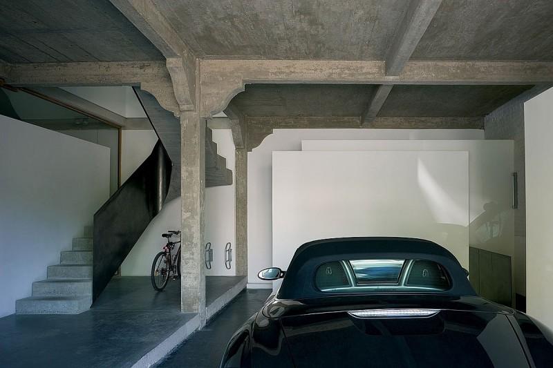 Garage du parc par atelier d 39 architecture bruno erpicum - Taxe habitation sur garage ...