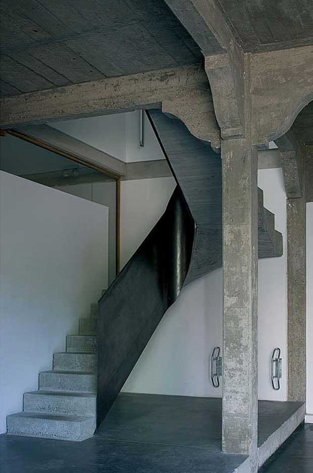 Escalier en b ton for Garage du park mouans sartoux