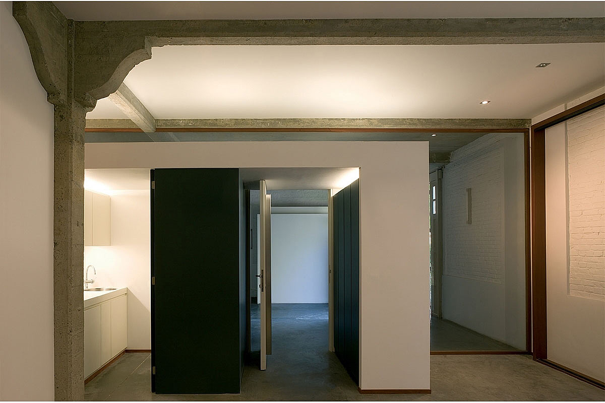 Entr e du loft for Garage du parc