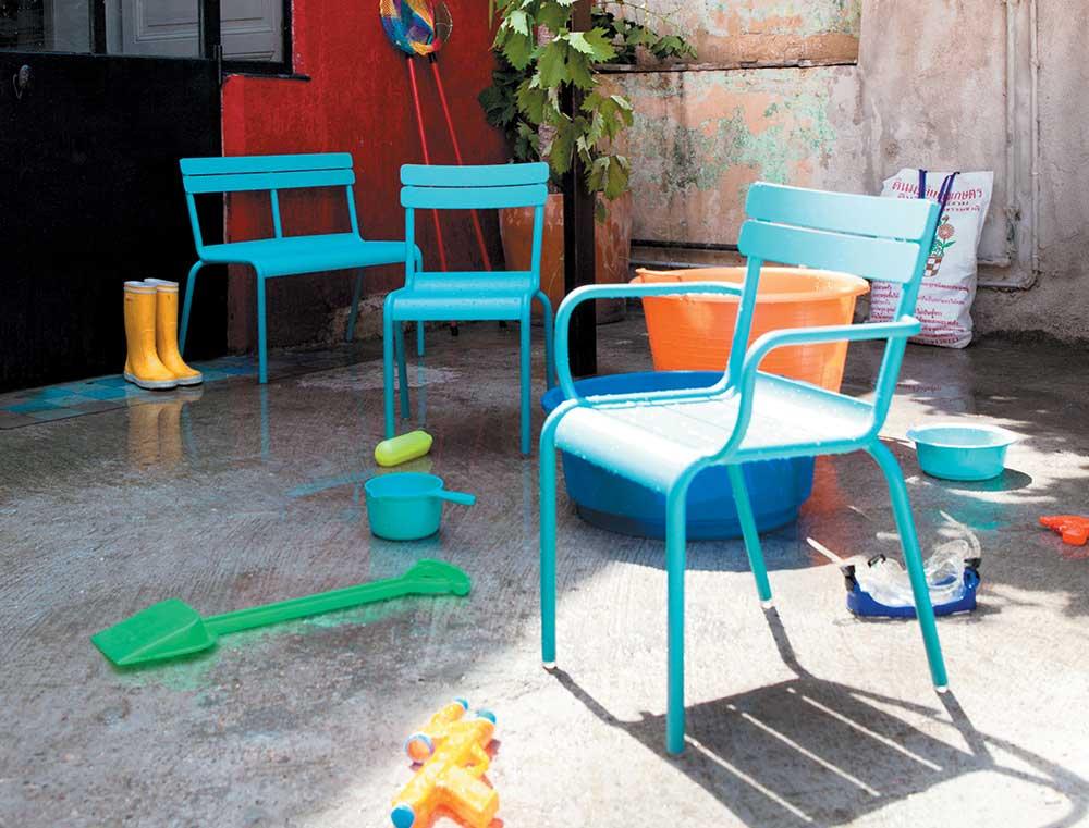 Luxembourg kid chaise de jardin pour enfant fermob - Salon de jardin pour enfant ...
