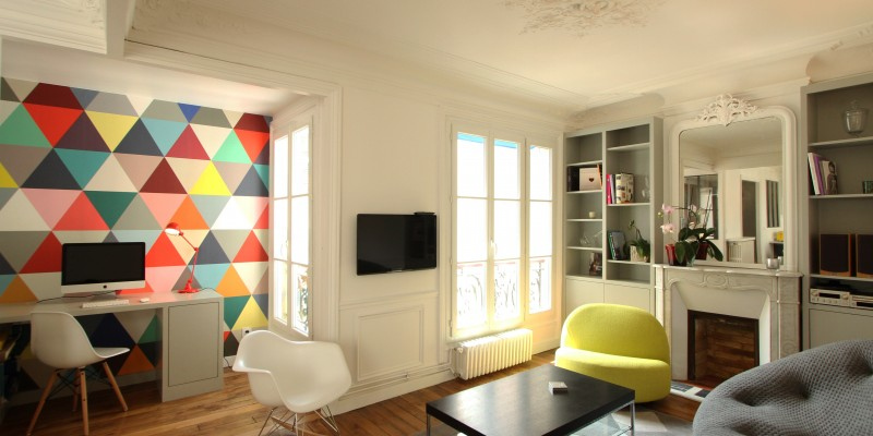 Renovation appartement haussmannien à Paris