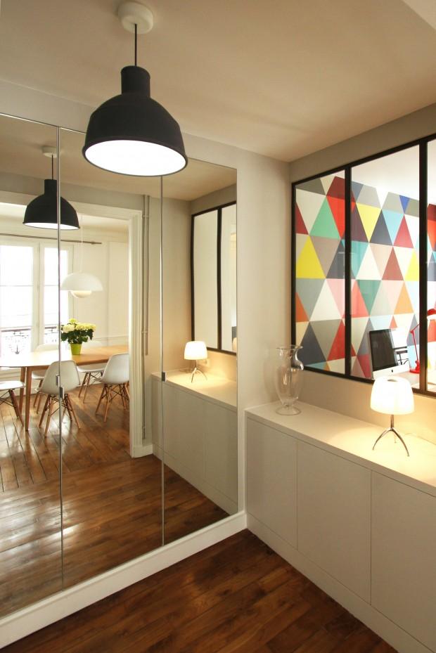 R novation d 39 un appartement haussmannien par camille hermand for Renovation appartement blog