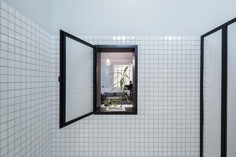 Reconversion d un ancien atelier en loft paris par septembre - Fenetre loft atelier ...