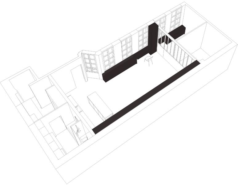 Le loft en 3D