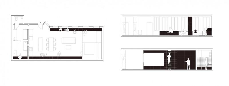 reconversion d un ancien atelier en loft paris par septembre. Black Bedroom Furniture Sets. Home Design Ideas